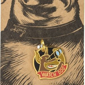 🆕 Pet Dog Collar Charm Tag - Watch Dog